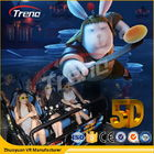 Trung Quốc Safety Theme Park Roller Coasters 5D Movie Theater With Hydraulic System For film Công ty