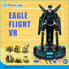 Interactive Game 9D VR Cinema Eagle Combat Flight Simulator With Shooting Guns