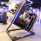 Indoor Arcade 9D VR Game Machine Virtual Reality Flight Simulator Blue / Black / Yellow