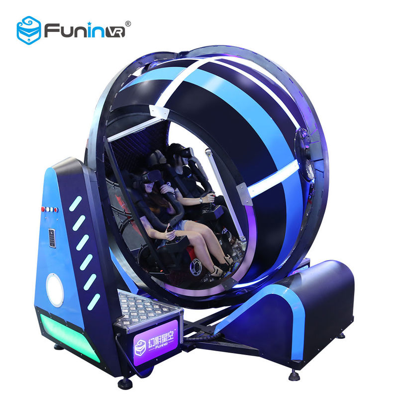 720 Roate Degree Flight Game Virtual Reality Simulator Cockpits Customized Color
