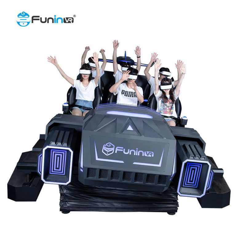 Amusement Park Rides 9D VR 6 Seats Cinema Simulator Price metal steel