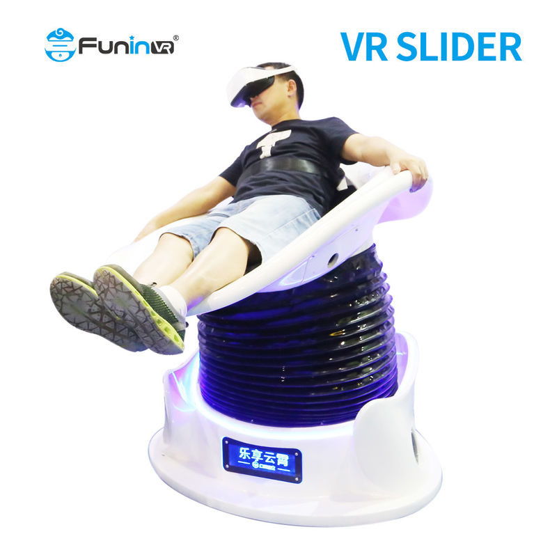 Rated Load 120KG 3DOF Electric Grass Skiing Simulator 9d VR slider